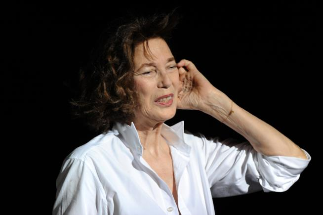 Jane Birkin arriva a Locarno 69