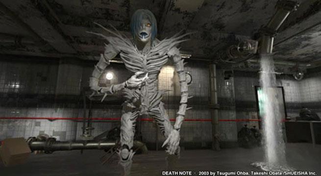 Le prime immagini del nuovo escape game di Death Note in realtà virtuale