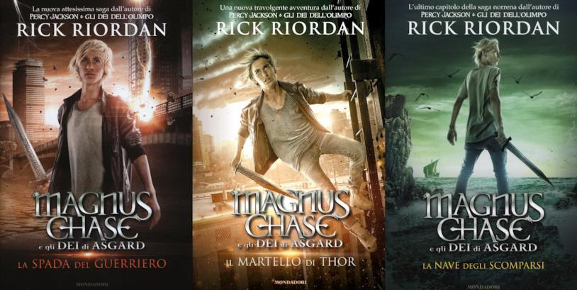 Magnus Chase e gli dei di Asgard, la trilogia di Rick Riordan