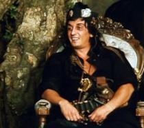 Flavio Bucci è Don Bastiano in una scena de Il marchese del Grillo