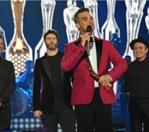 Robbie Williams e i Take That
