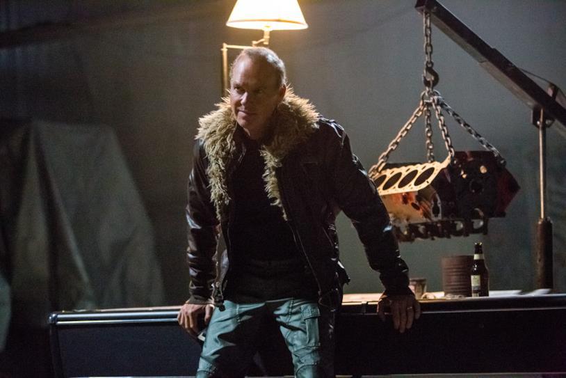 Michael Keaton in Spider-Man: Homecoming