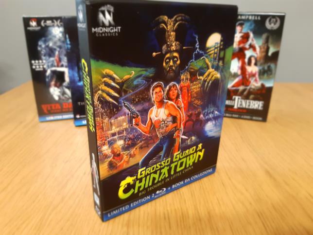 Il cofanetto Limited Edition di Grosso Guaio a Chinatown distribuito da Koch Media