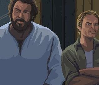 Bud Spencer e Terence Hill in Slaps and Beans