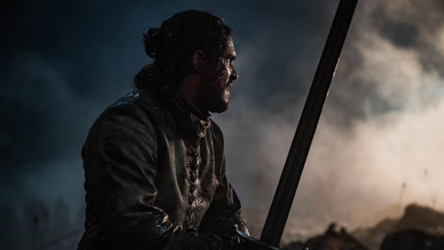 GoT 8x03: Jon Snow in mezzo alla battaglia