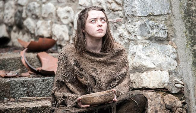 Arya in Game of Thrones Stagione 6