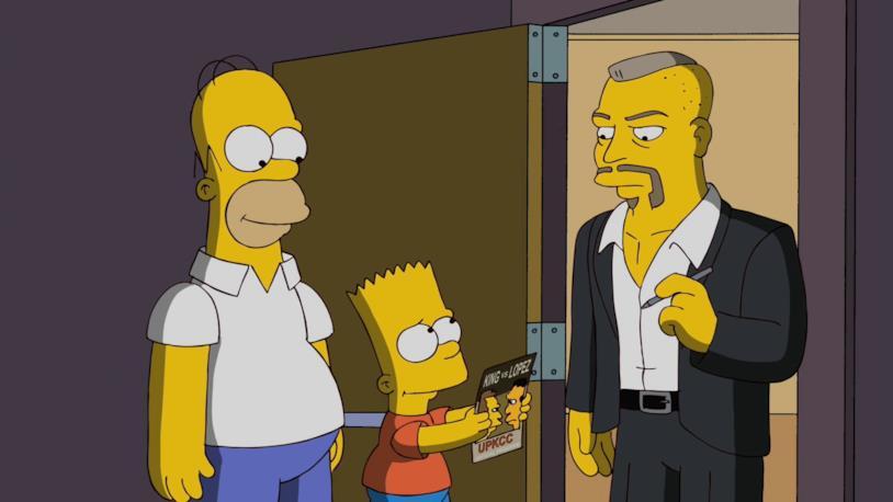 I Simpson e la UFC