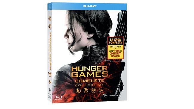 Hunger Games cofanetto dvd