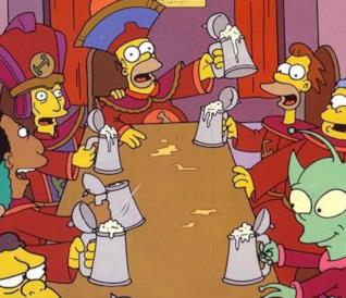 I Simpson: la festa dei Tagliapietre
