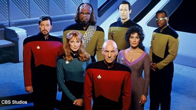 Una foto del cast di Star Trek: The Next Generation