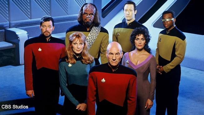 Un'immagine del cast di Star Trek