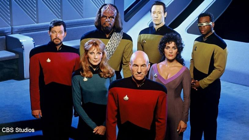 Un'immagine del cast di Star Trek