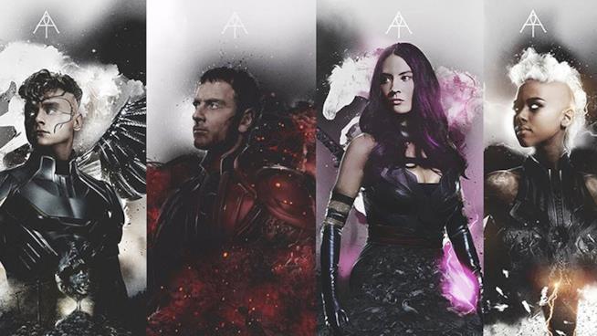 I 4 cavalieri mutanti di Apocalisse