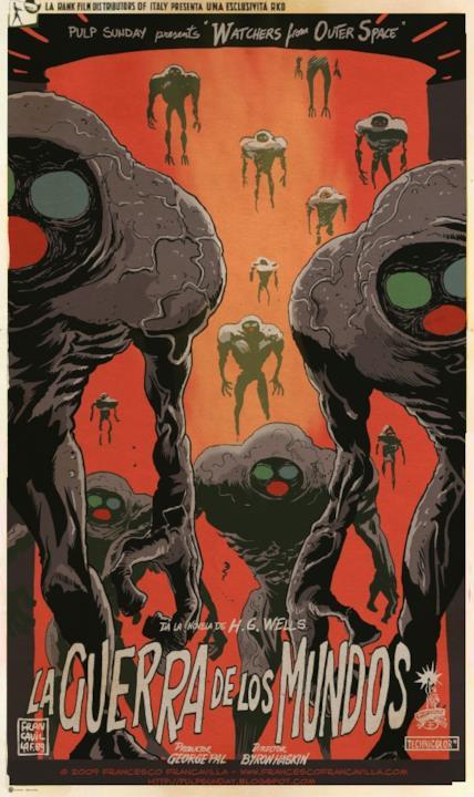 Il poster de La Guerra dei Mondi