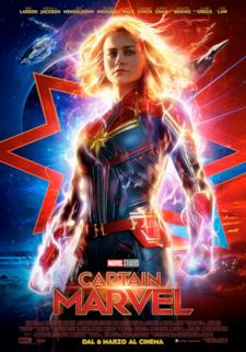 Captain Marvel nel primo poster italiano