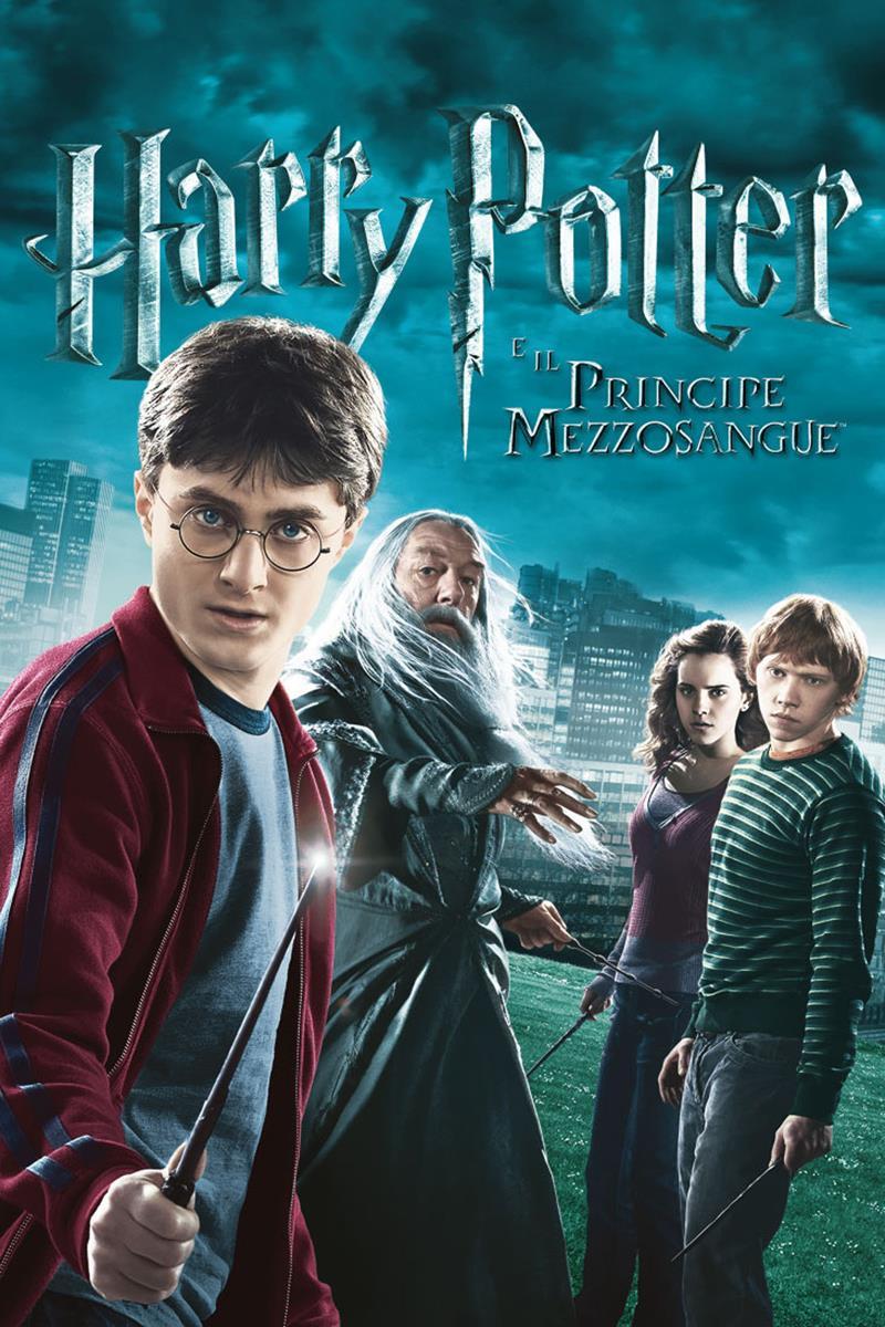 Il poster di Harry Potter e il Principe mezzosangue