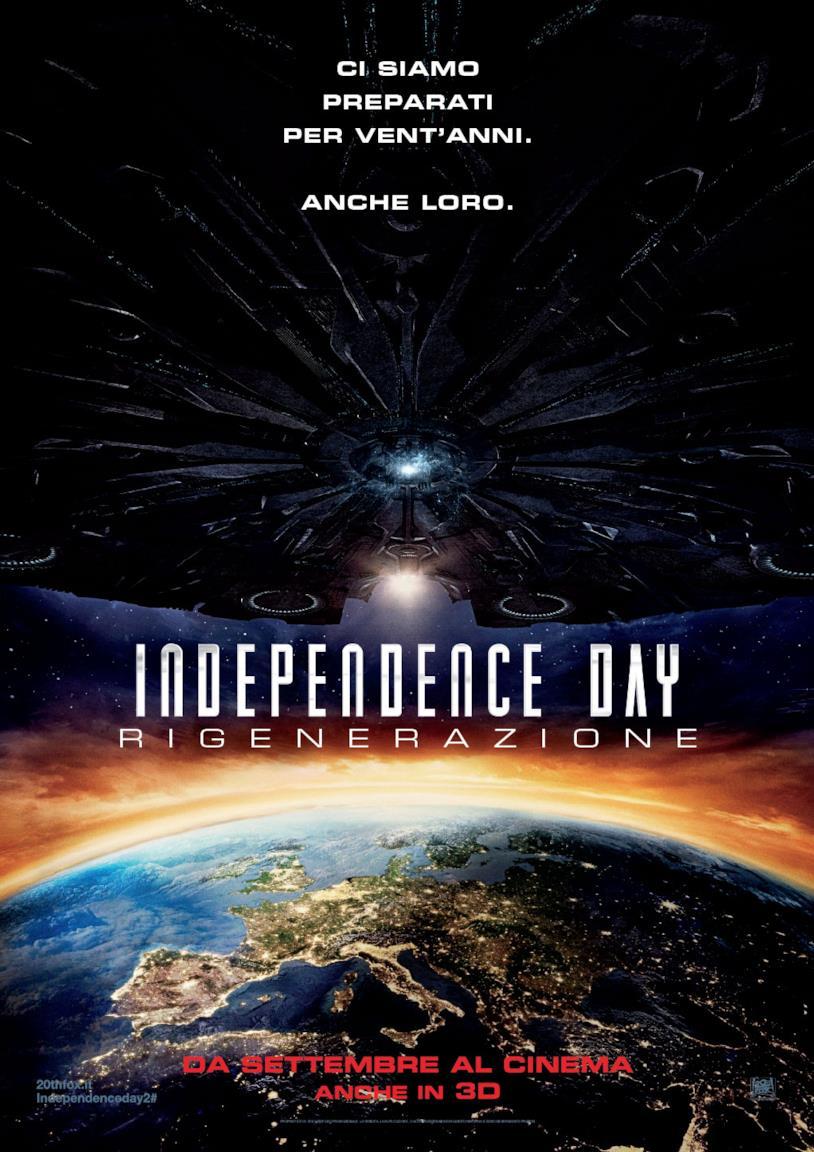 Poster ufficiale di Independence Day: Rigenerazione