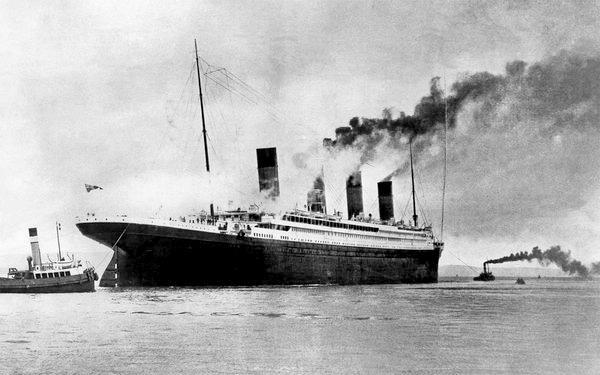 Foto originale del Titanic