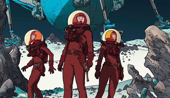Cover di Shadow Planet, fumetto di saldaPress