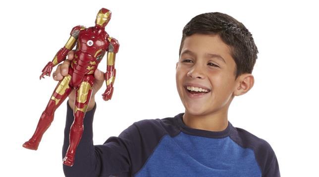 Una action figure di Iron Man è il desiderio di tutti i bambini
