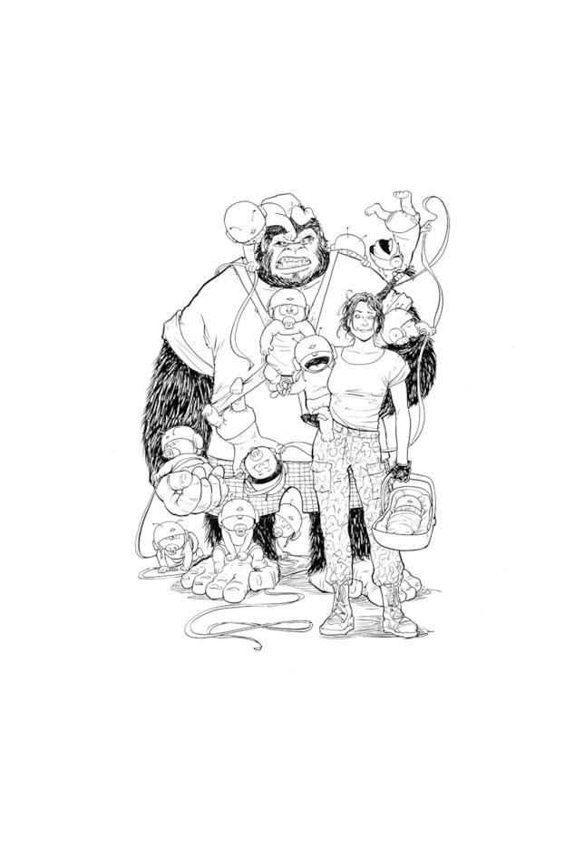 I protagonisti del fumetto Motor Girl
