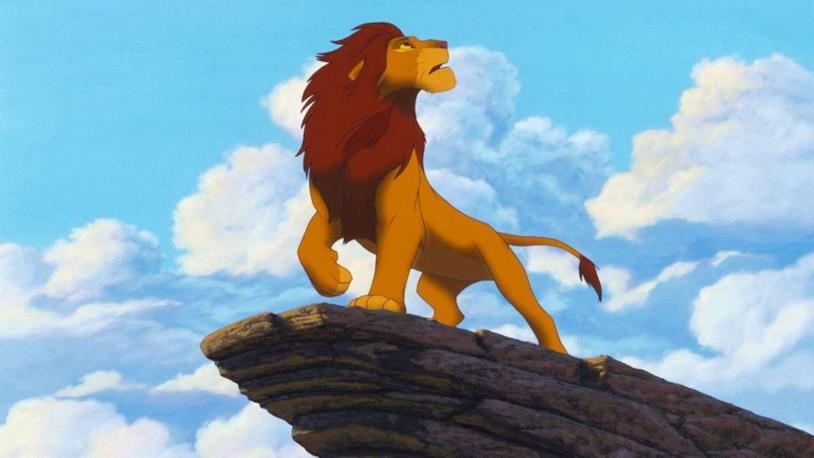 Una scena de Il re leone