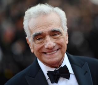 Un primo piano di Martin Scorsese