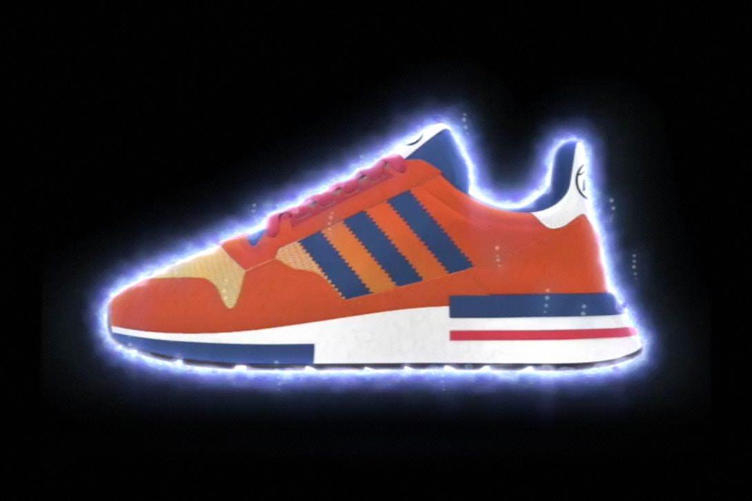 AdidasZX500 RM ispirate a Goku