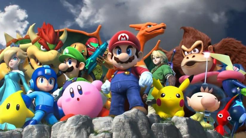 Gli eroi di Super Smash Bros. per Nintendo Switch