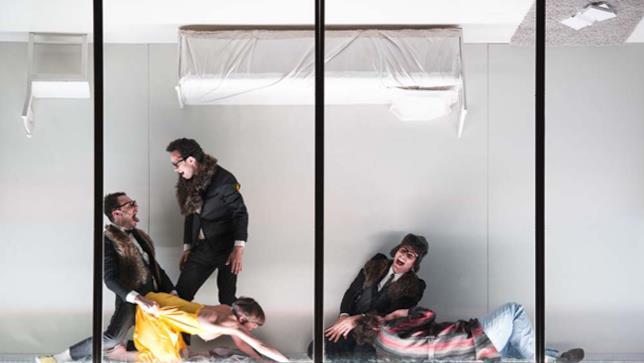 Arancia Meccanica, scena spettacolo teatrale