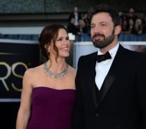 Primo piano di Ben Afflec e Jennifer Garner