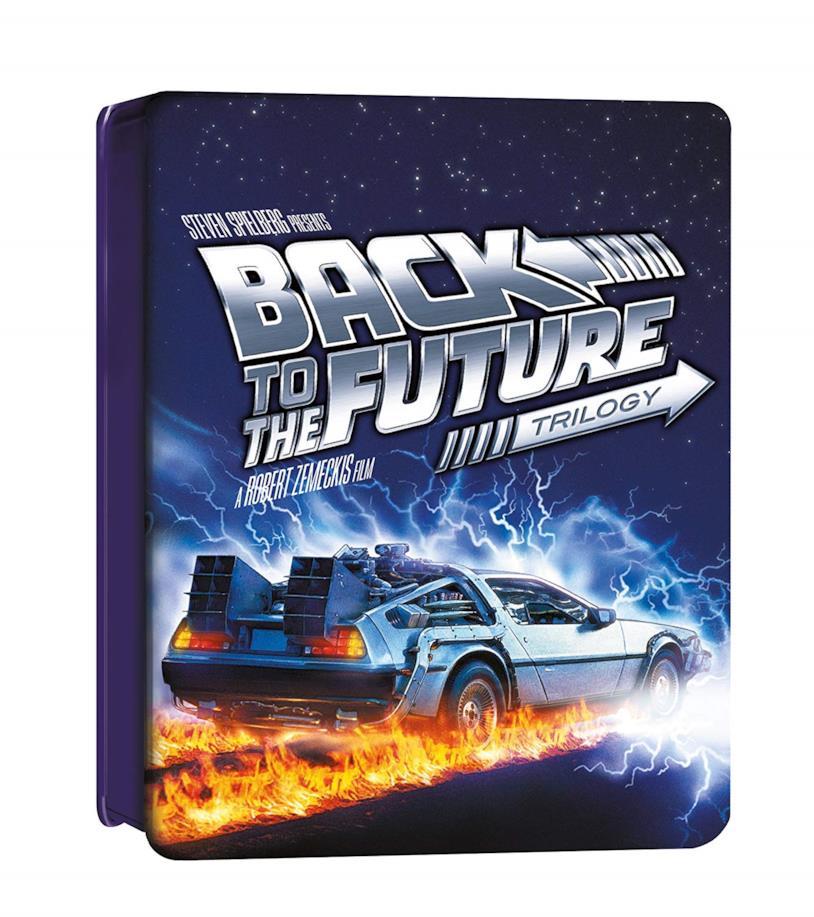 Ritorno al Futuro, la copertina della trilogia completa