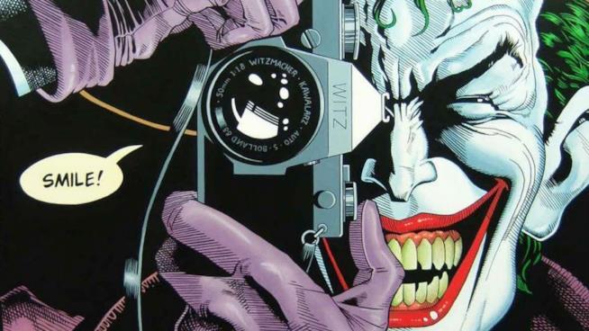 Il Joker nel graphic novel The Killing Joke, di Alan Moore