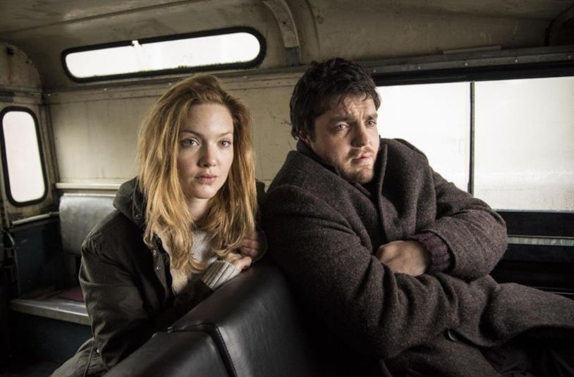 Il detective Cormoran Strike e la sua assistente Robin Ellacott