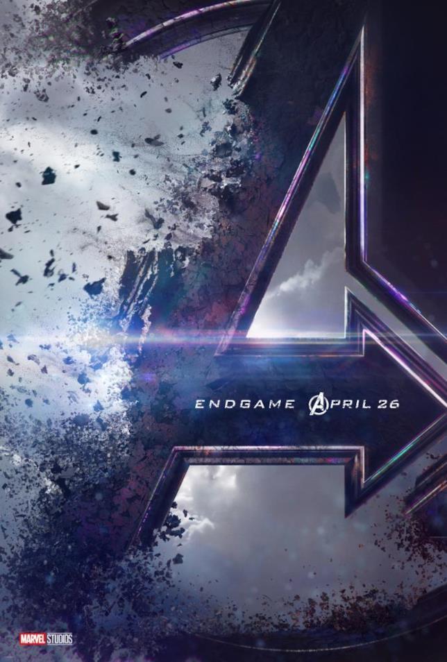 La A di Avengers si dissolve nel teaser poster di Endgame