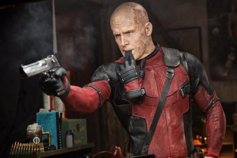 Un'immagine del film Deadpool