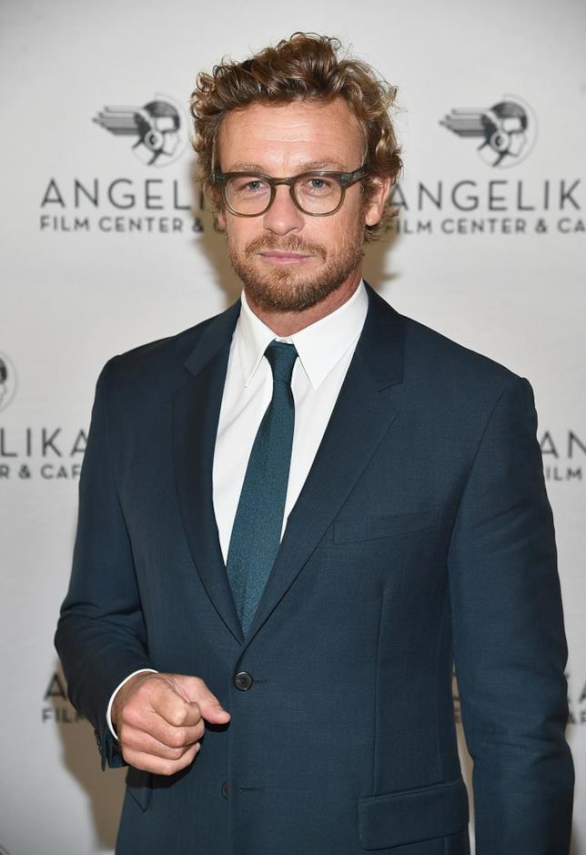 Simon Baker, attore australiano ammirato in The Mentalist