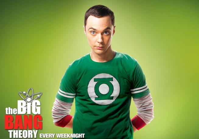 Una delle magliette a tema Lanterna Verde