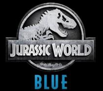 Il logo di Jurassic World: Blue, videogioco dedicato al famoso velociraptor