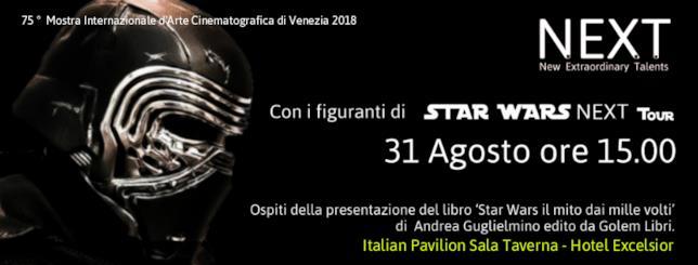 L'evento Star Wars Cosplayalla Mostra del Cinema di Venezia 2018