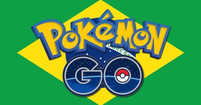 L'applicazione Pokémon GO Brasile