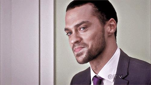 Jesse Williams nei panni di Jackson Avery