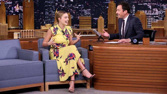 Margot Robbie ospite di The Tonight Show con Jimmy Fallon