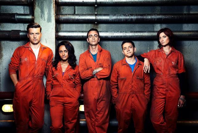Alex, Jess, Rudy, Finn e Abbey