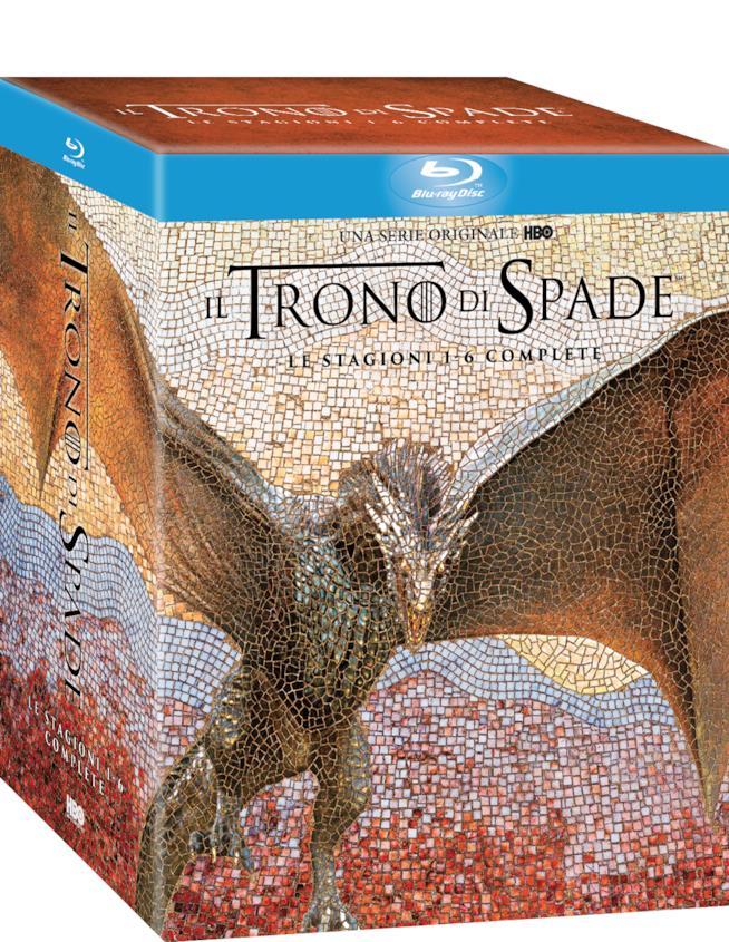 Cofanetto stagioni 1-6 Blu-Ray Il Trono di Spade