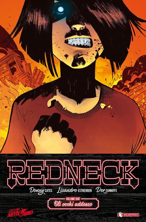 Redneck #2, la cover