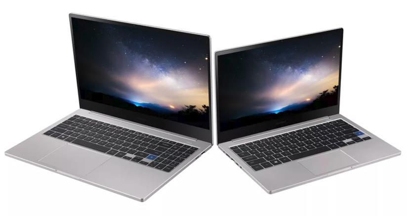 Immagine stampa dei due Samsung Notebook 7 da 13 e 15 pollici