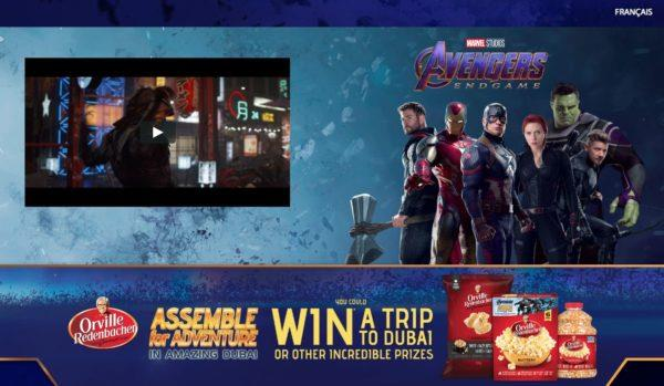 Orville Redenbacher: il contest associato ad Avengers: Endgame