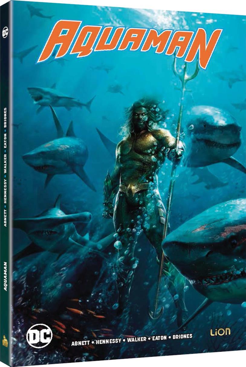 Packshot della versione Comicbook + Blu-ray di Aquaman