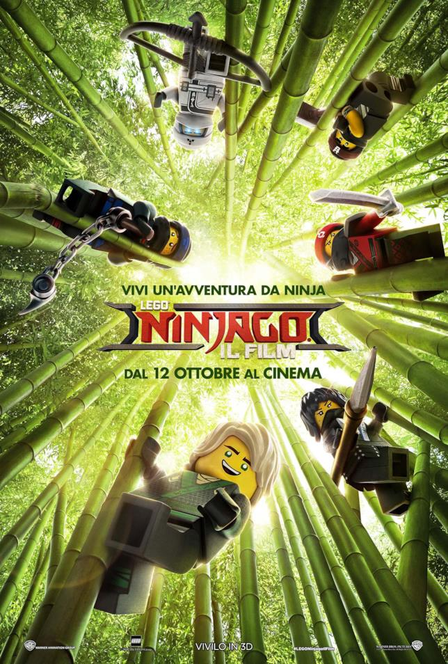 Lego Ninjago - Il Film nei cinema italiani dal 12 ottobre 2017